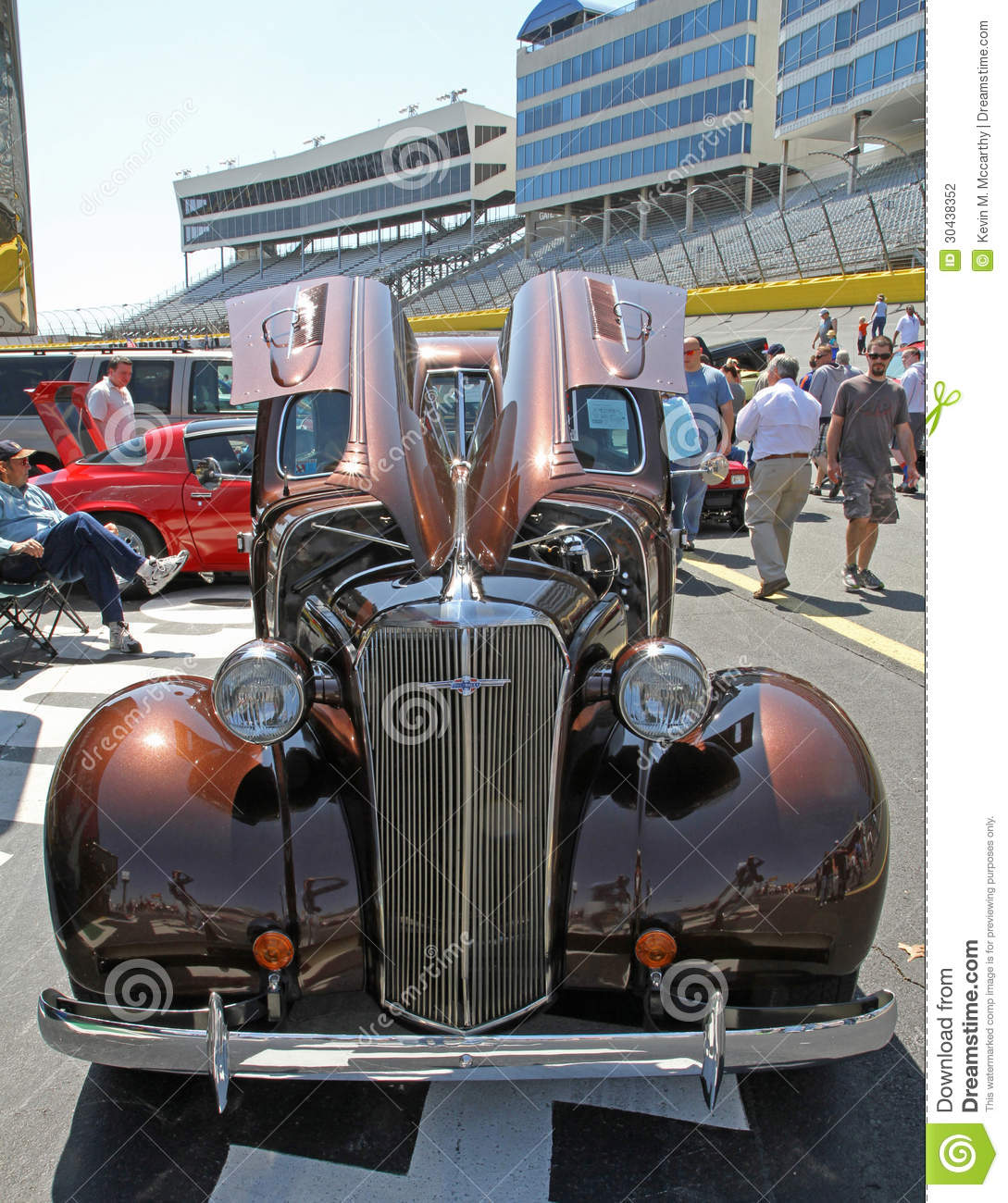 Antique chevrolet automobile editorial photography image for Auto fair at charlotte motor speedway