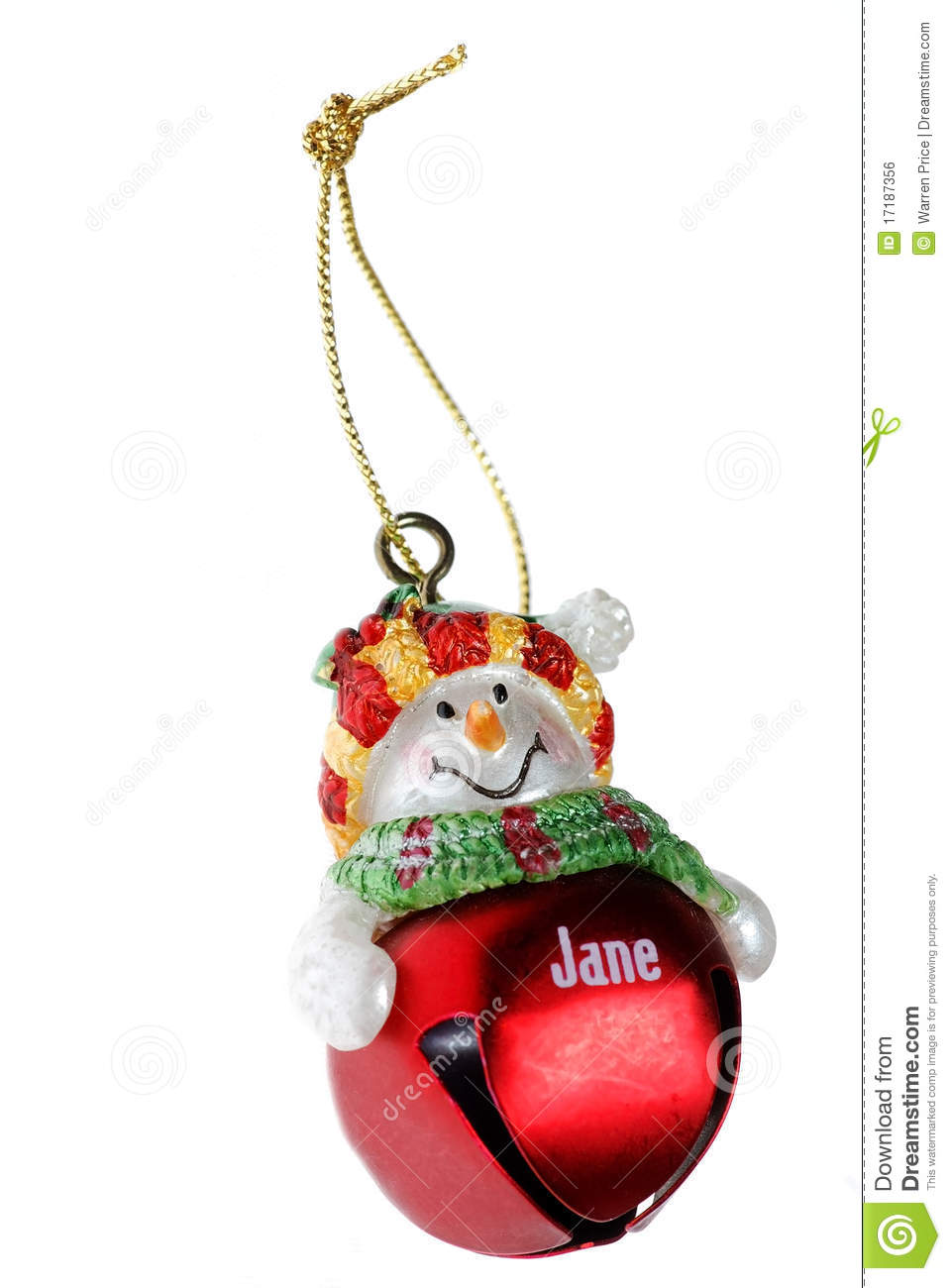 Free Clipart Christmas Bell