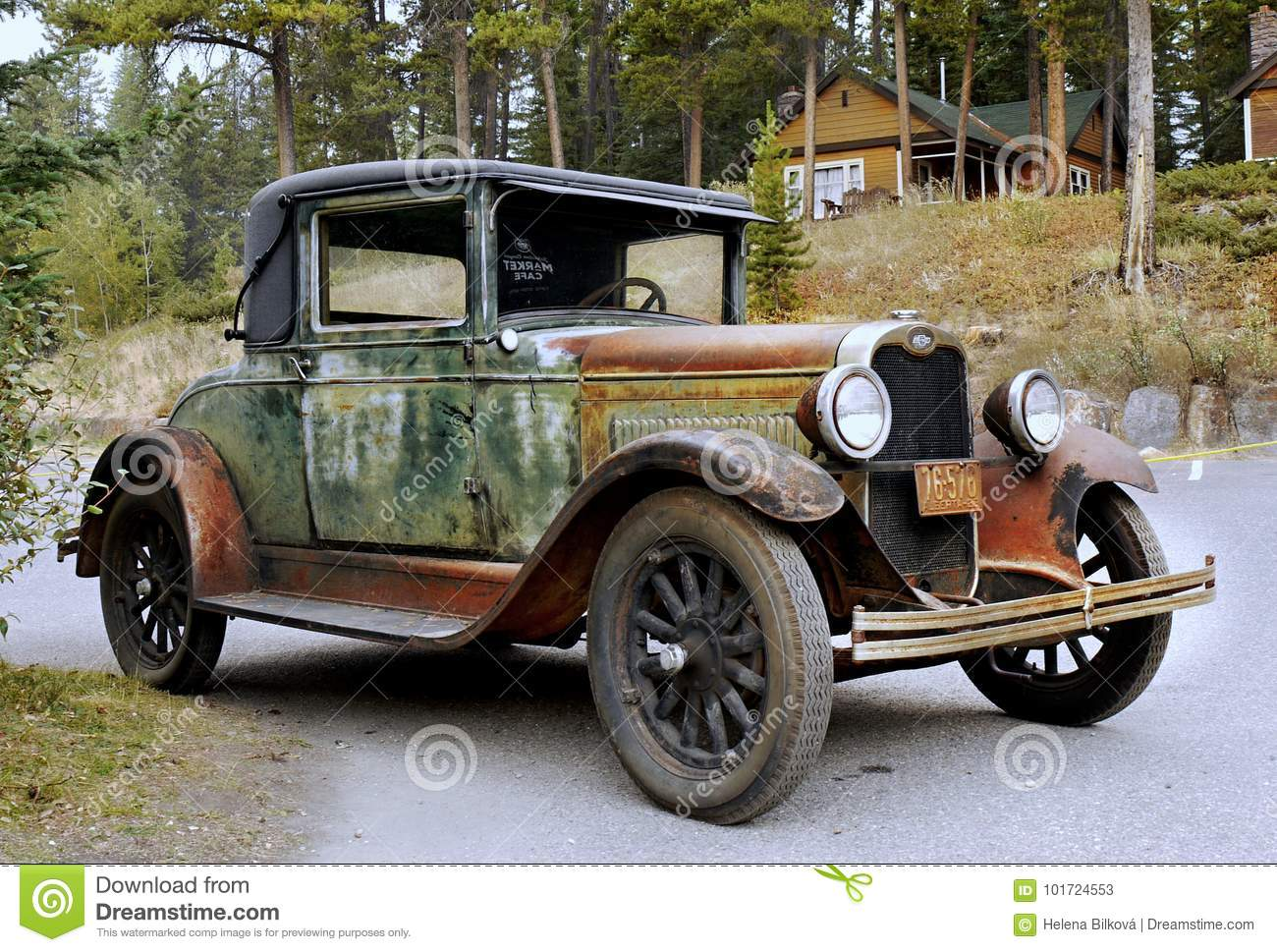 Antique Classic Vintage Chevrolet Cars Editorial Stock Photo - Image ...