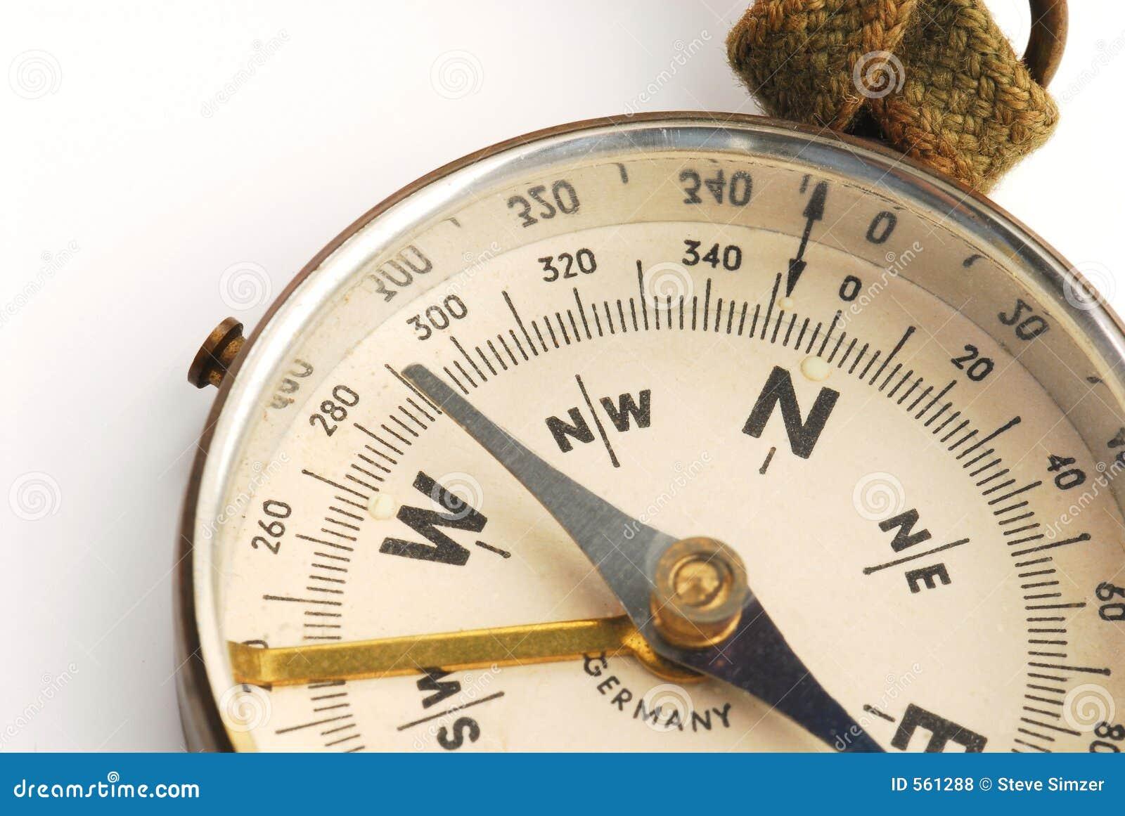 Antique Compass Face 2 Royalty Free Stock Photos