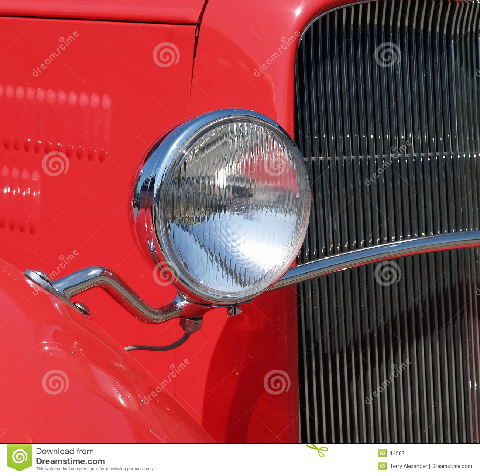 Antique and Custom car