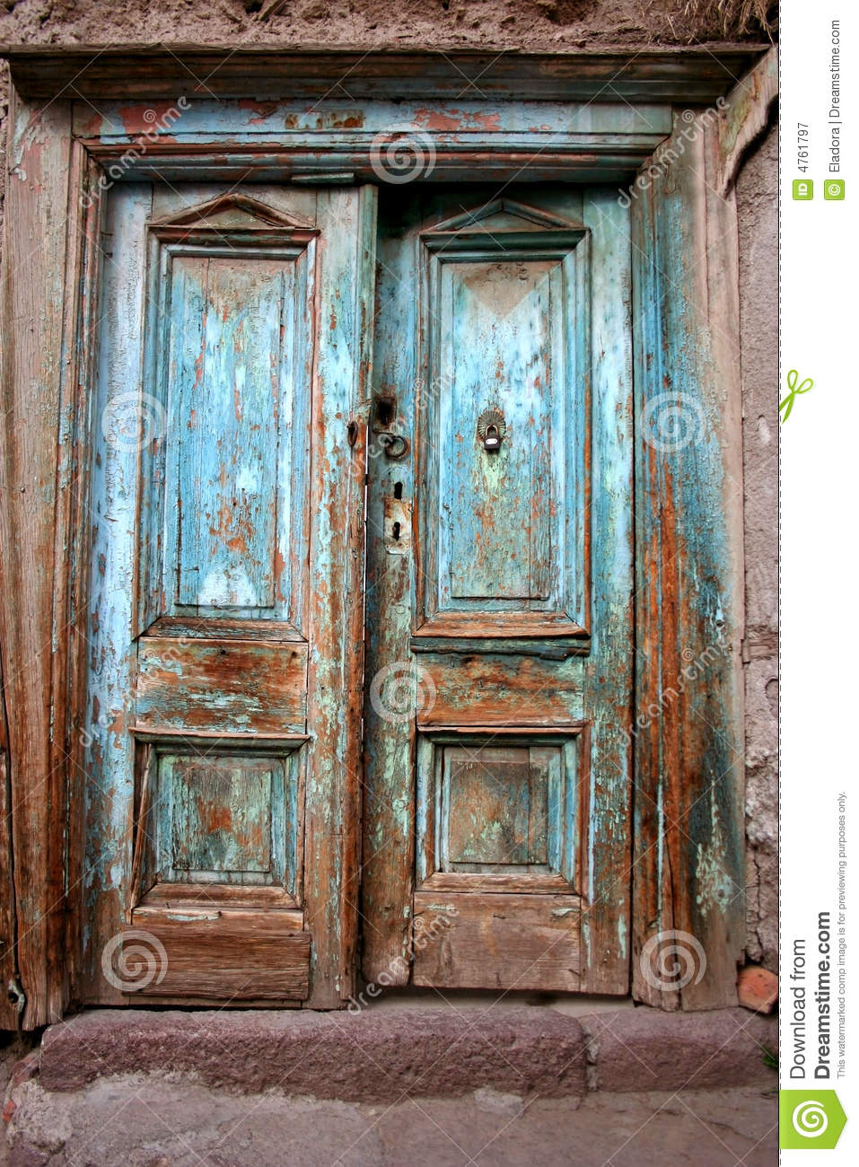 Antique door - Antique Door Stock Image. Image Of Deteriorated, Door - 4761797