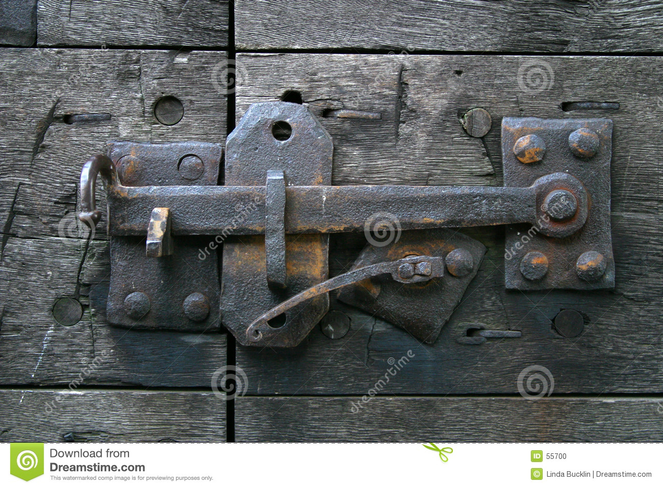 Antique Door Latch - Antique Door Latch Stock Photo. Image Of Hardware, Historic - 55700