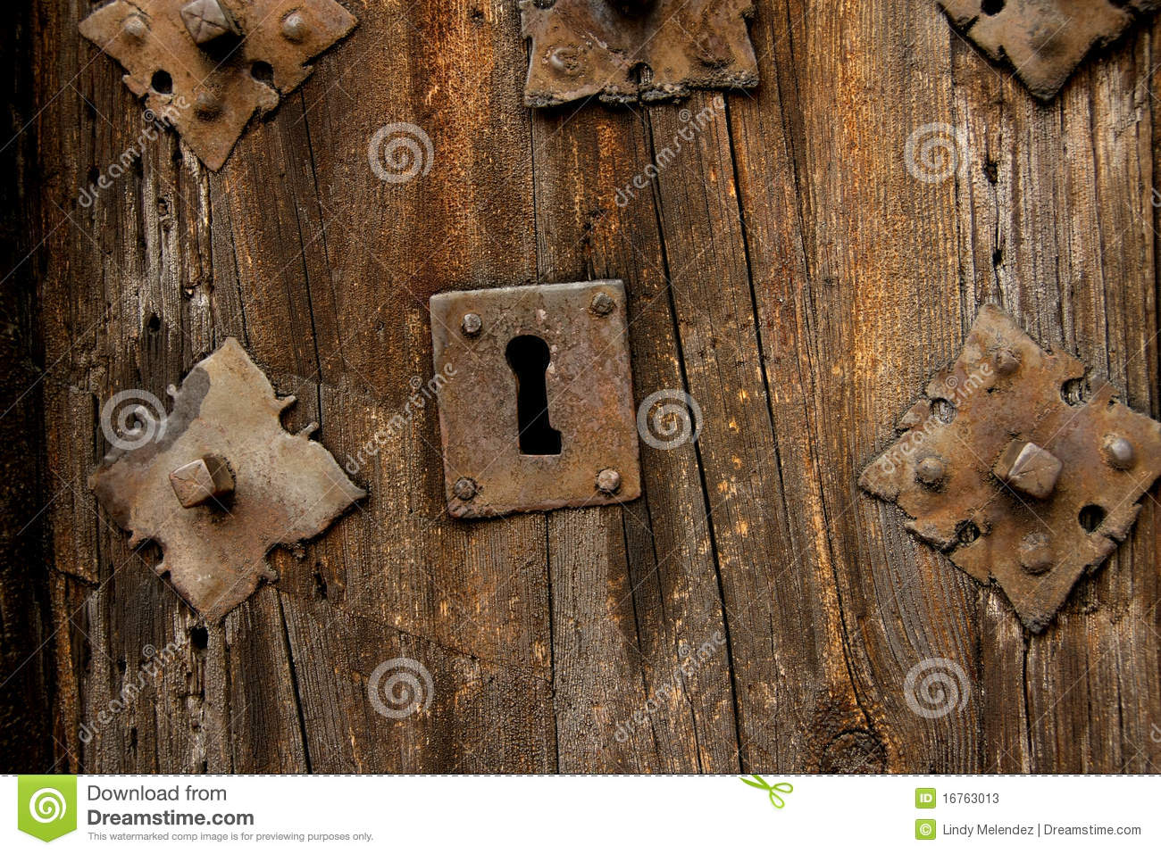 Antique Door Locks antique door lock stock photos - image: 16763013