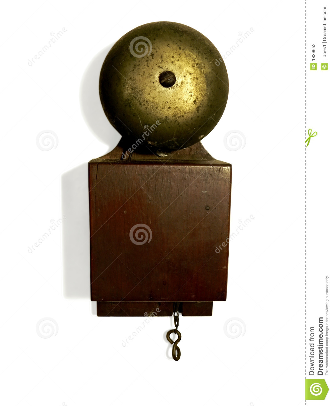 Antique Doorbell Stock Photography Image 1839652