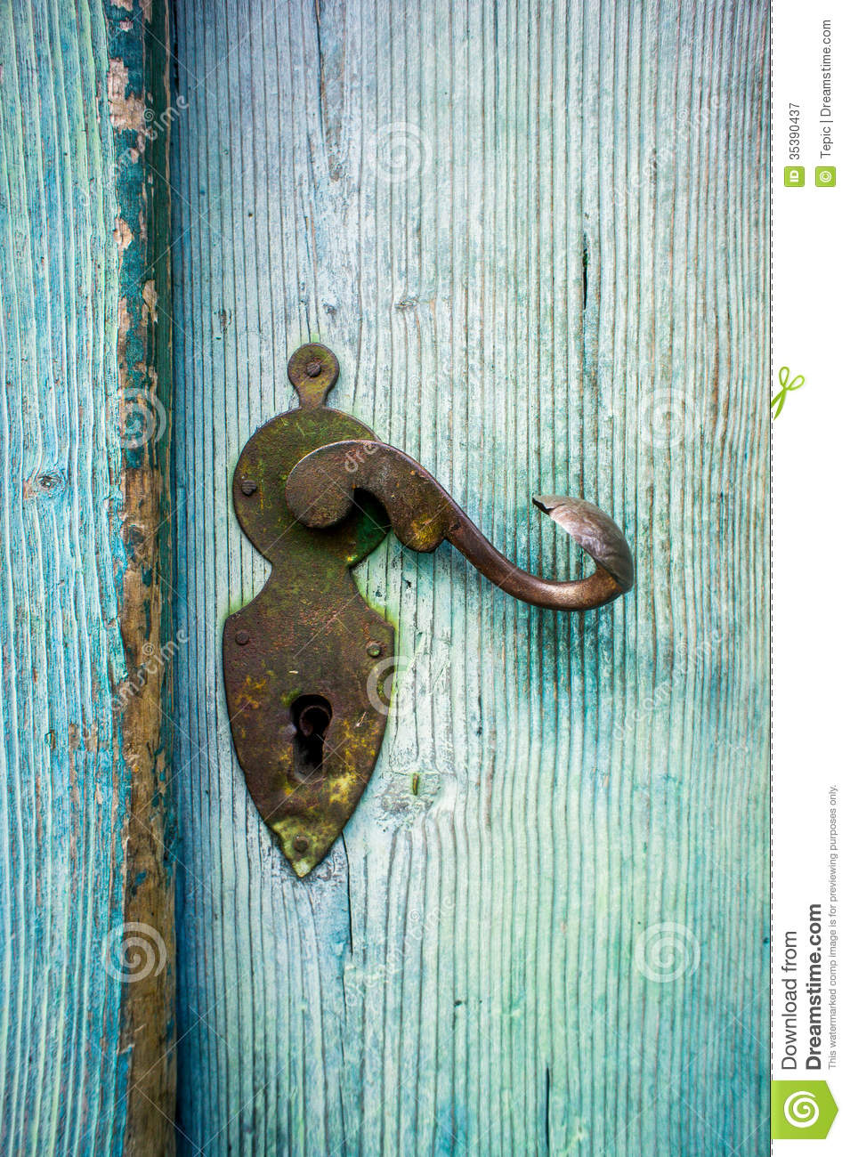 Antique Doorknob Royalty Free Stock Photography Image 35390437