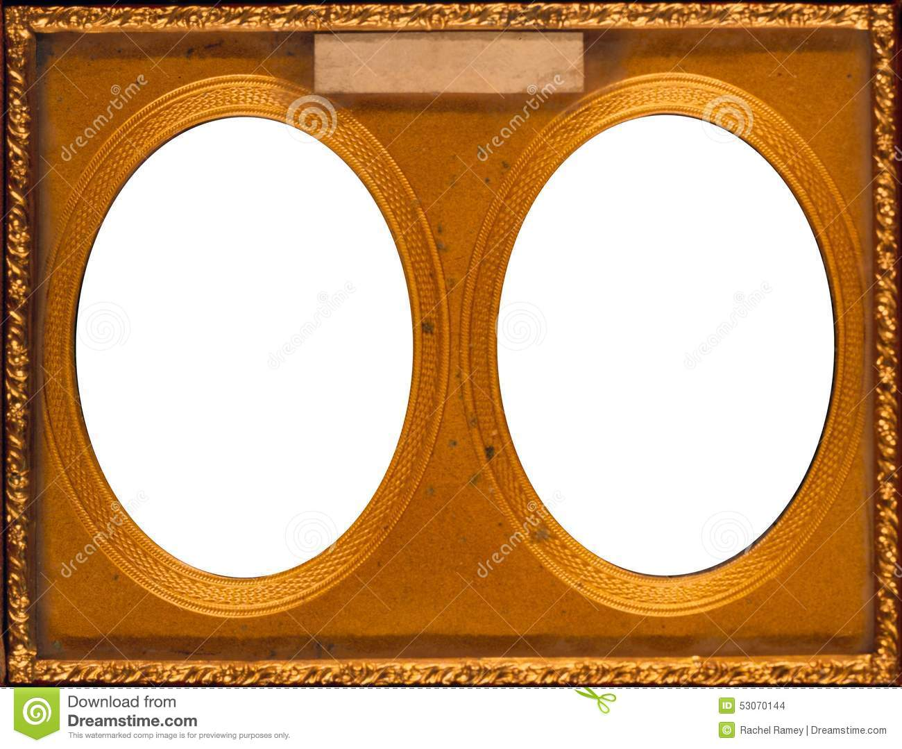 antique double frame - Double Picture Frame