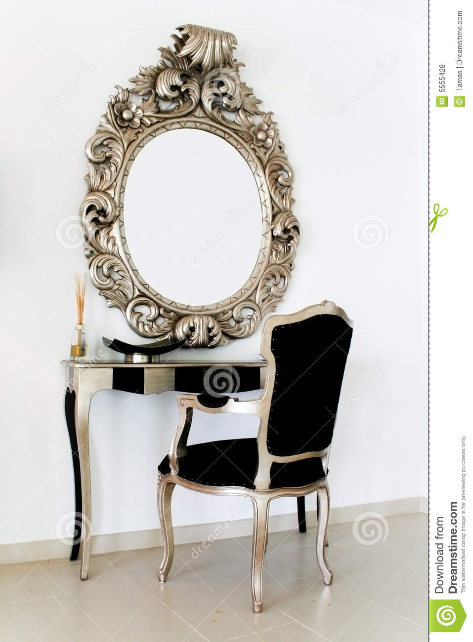 Antique Dressing Table Royalty Free Stock Photos Image 5555428