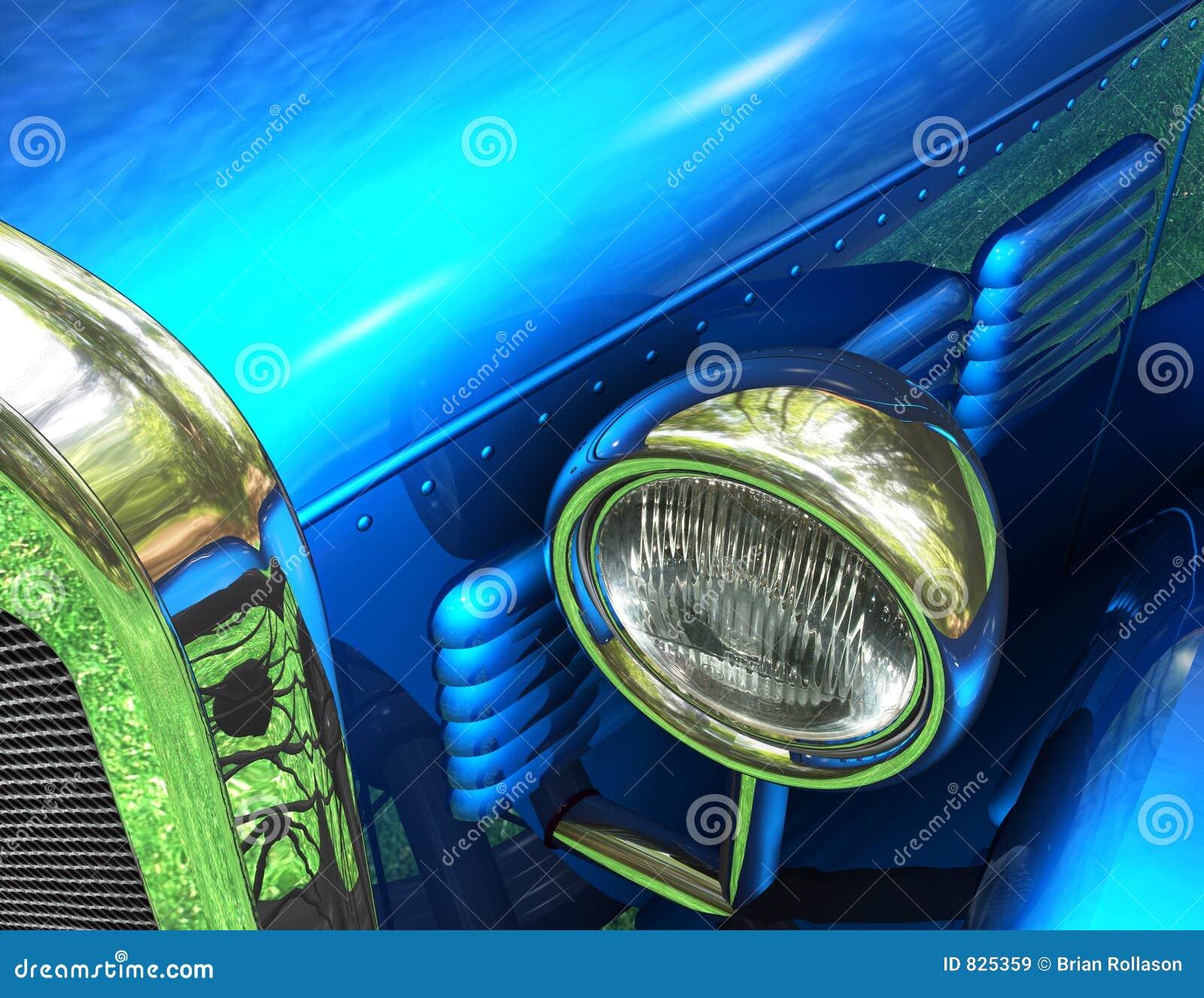 Antique Fantasy Auto Close-Up