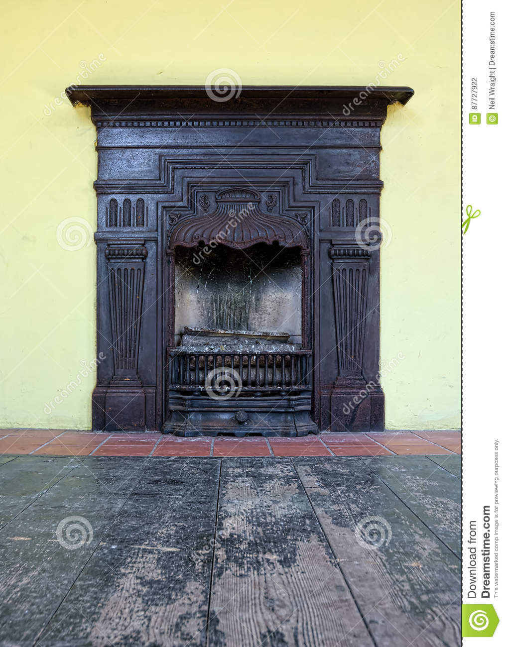Antique Fireplace Editorial Photography Image Of Fire 87727922