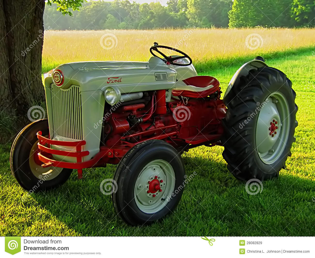 Ford Tractor Identification : Antique ford tractor editorial stock image