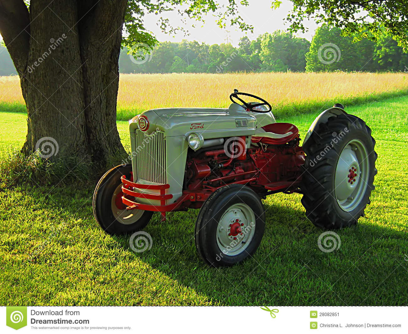 Old Ford Tractor Decals : Antique ford tractor editorial photo image of