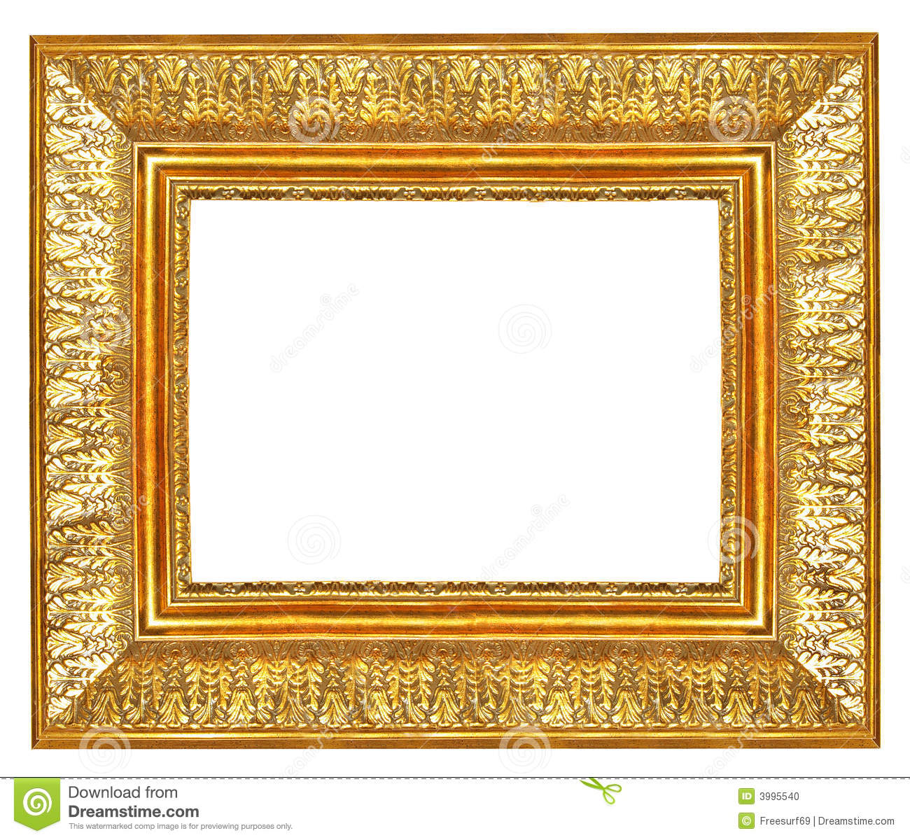 Antique frame 12 stock photo image 3995540 for How to make vintage frames