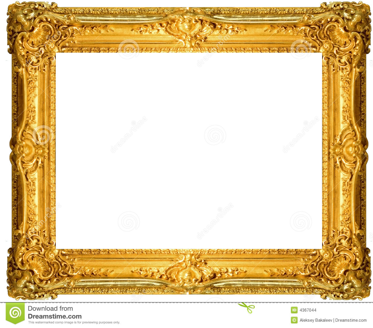 Antique Frame Stock Images  Image: 4367044