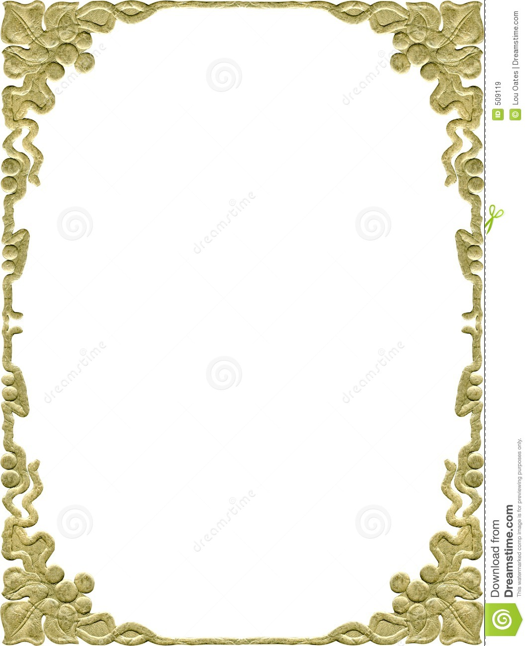 Antique Frame Stock Image Image Of Blank Frame Book