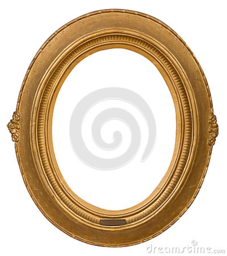 db9a884bc66 Antique frame is very old with cracks and uneven isolated on white  background