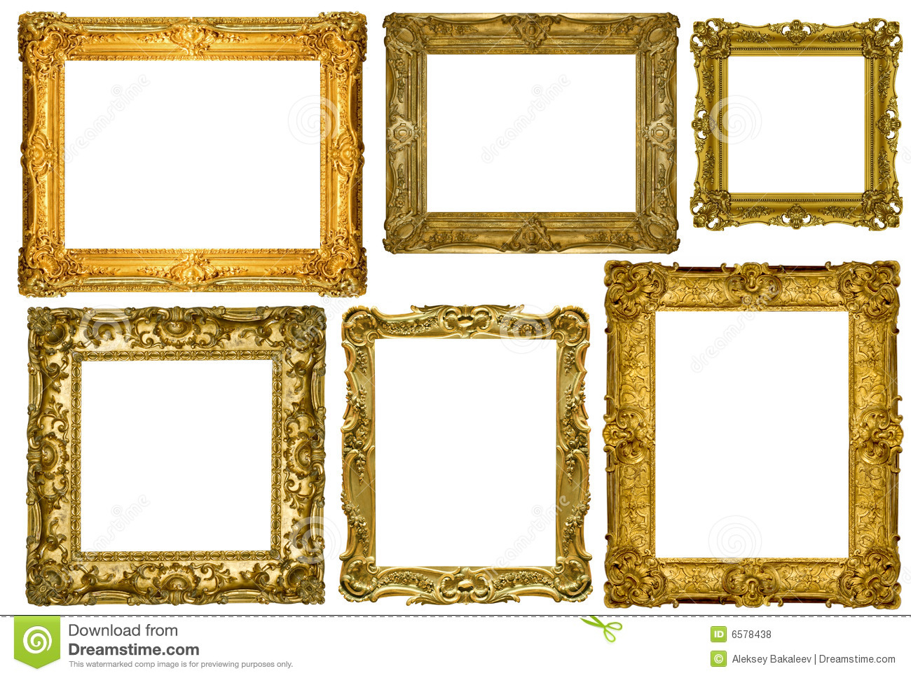 antique frames collection stock photo image of image