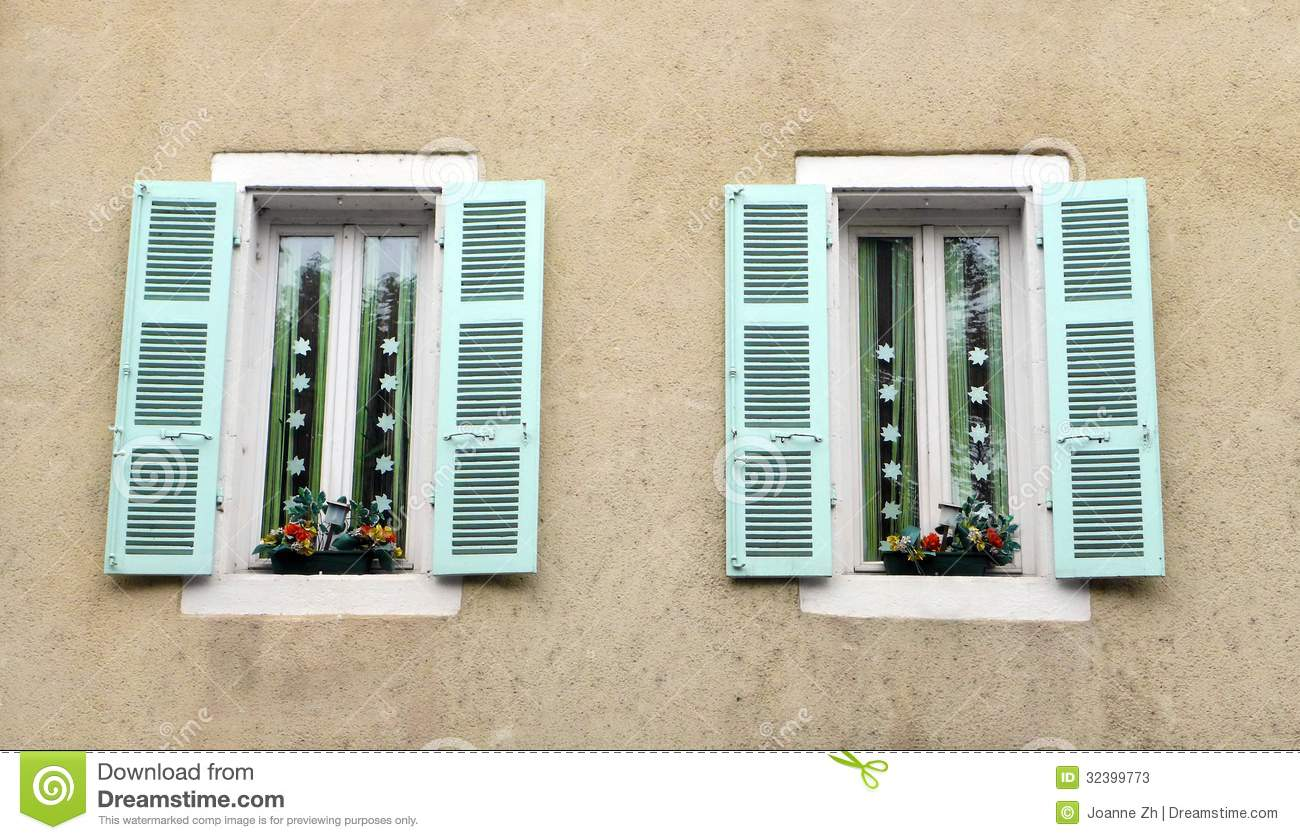 download antique french house window decor stock image image of pretty cahors 32399773