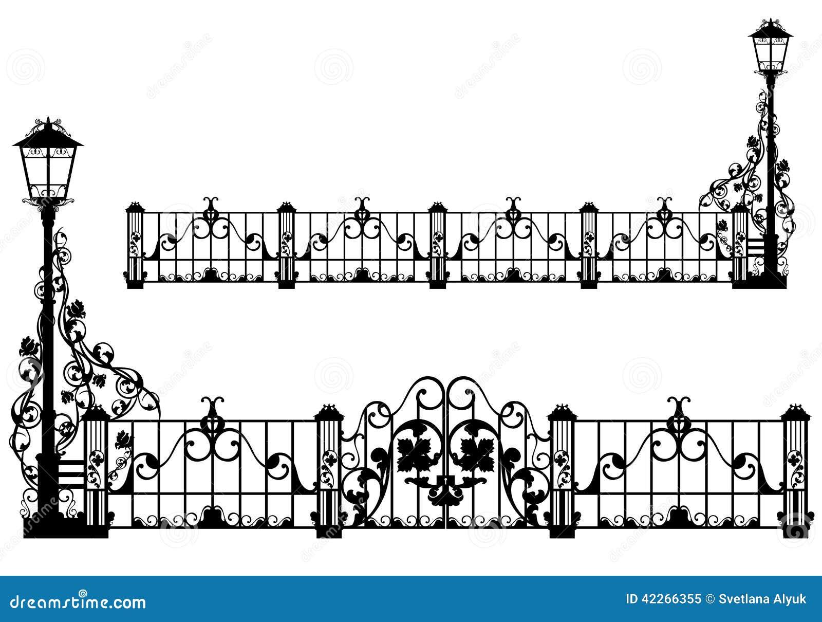 Antique Garden Fence