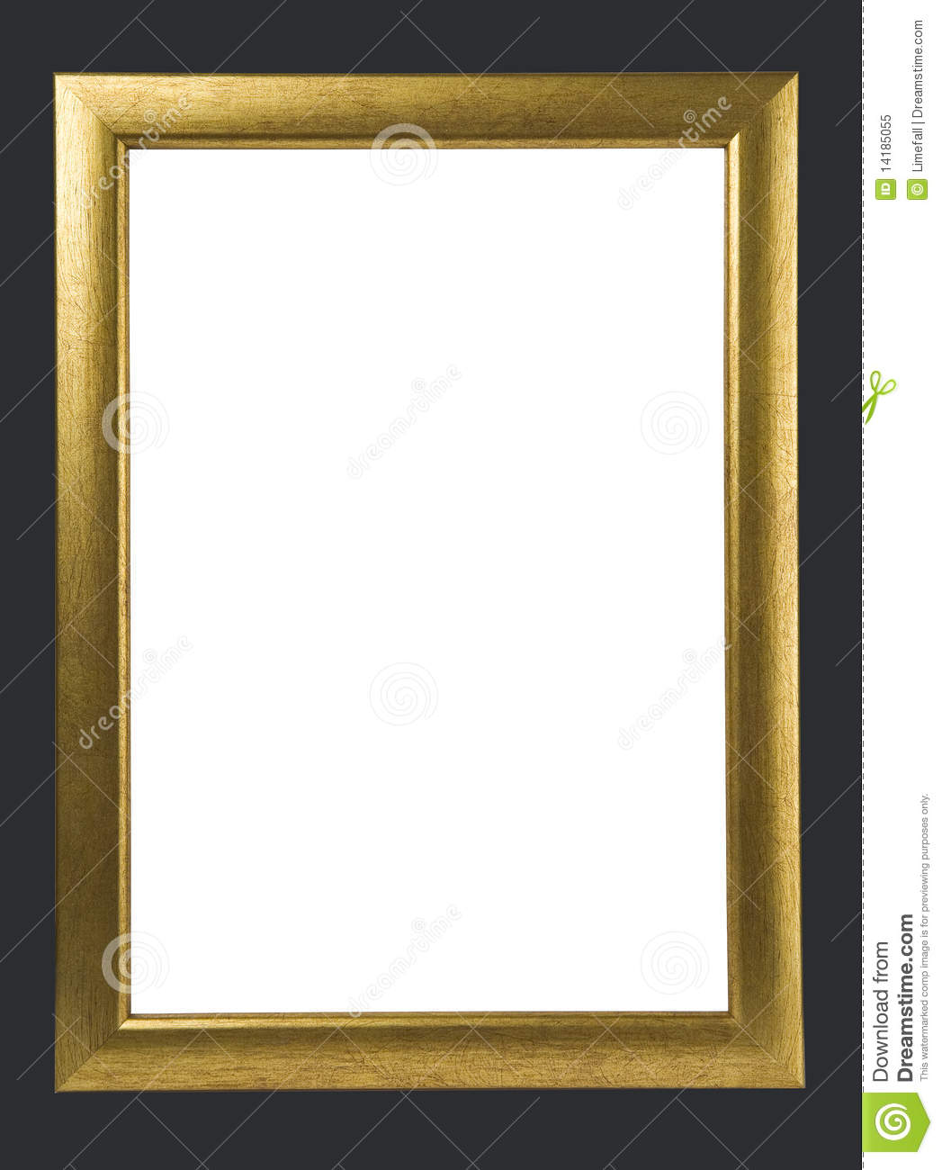Antique golden frame stock image. Image of fancy, frames - 14185055