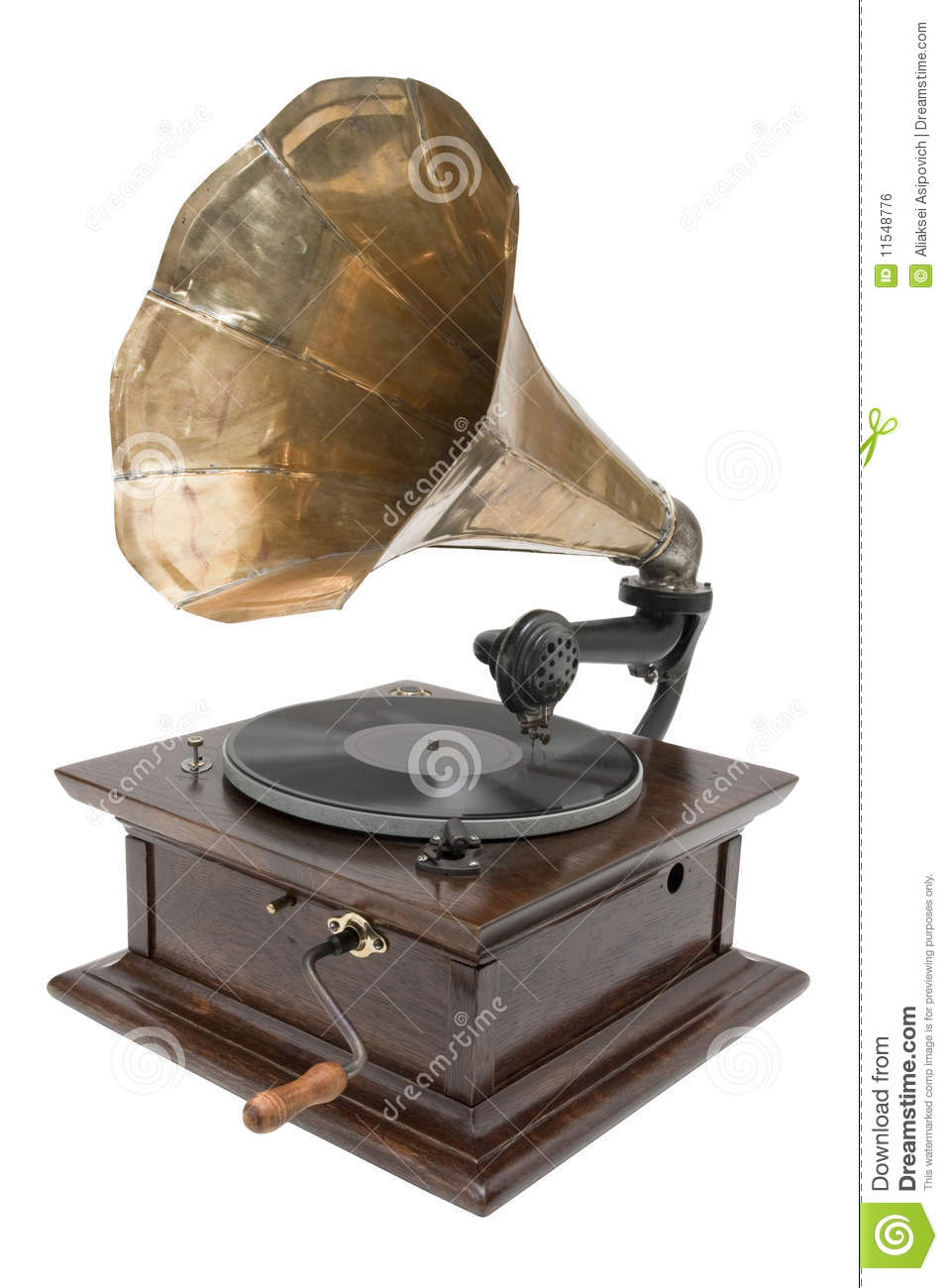 Antique Gramophone Royalty Free Stock Image Image 11548776
