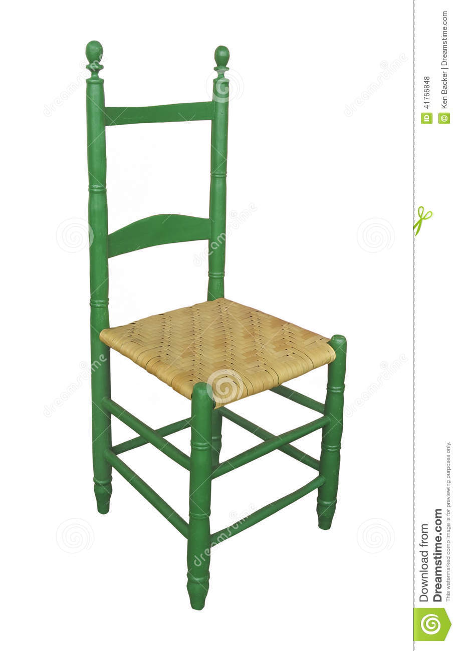 Terrific Antique High Back Chair Isolated Stock Photo Image Of Home Remodeling Inspirations Genioncuboardxyz