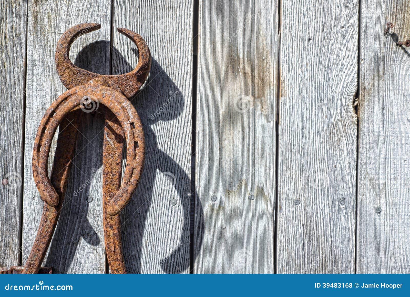 Antique Horseshoeing Tool Wall Stock Photo Image 39483168