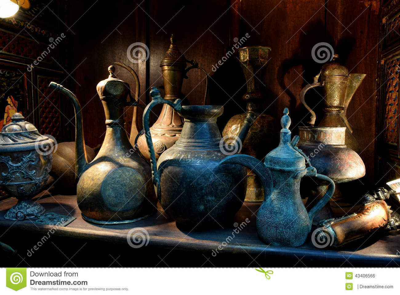 Antique household items stock photo image 43406566 for Old objects