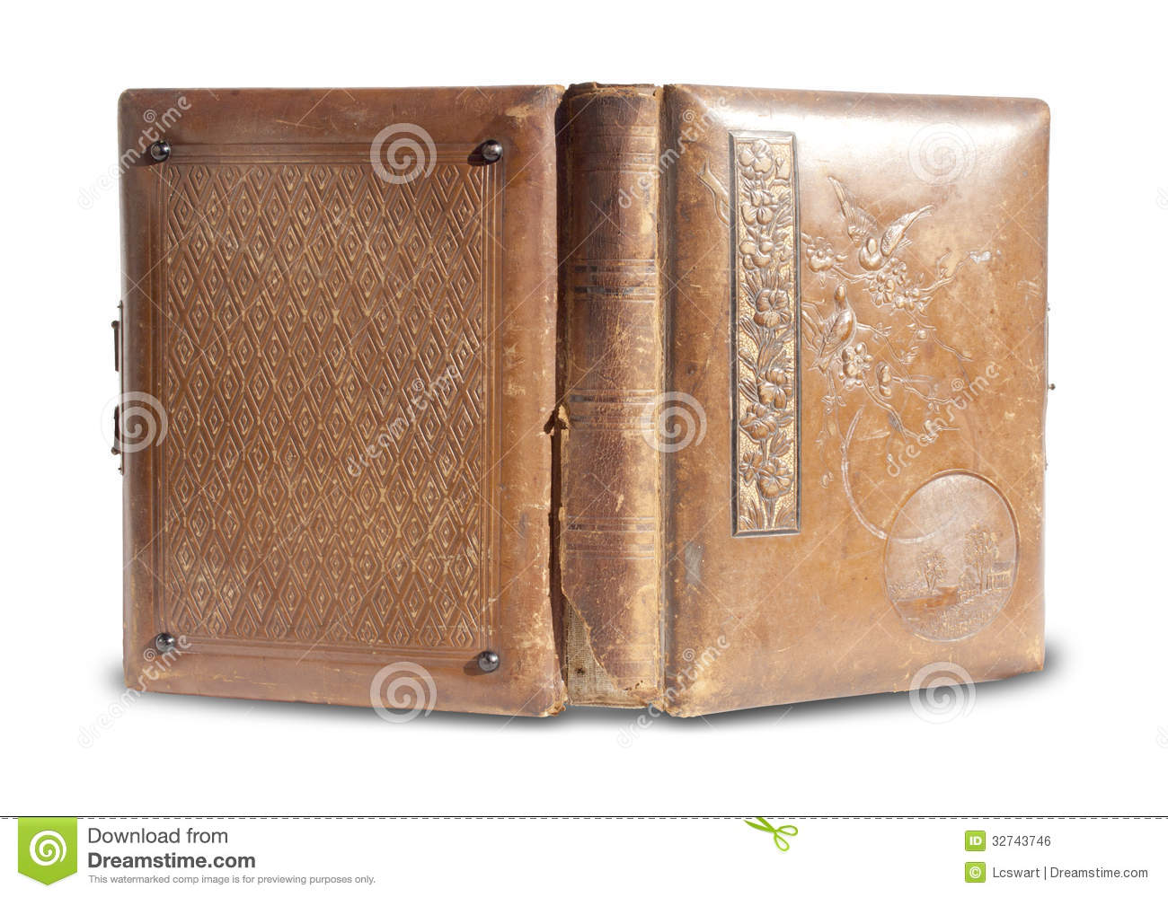 leather bound book royalty - photo #10
