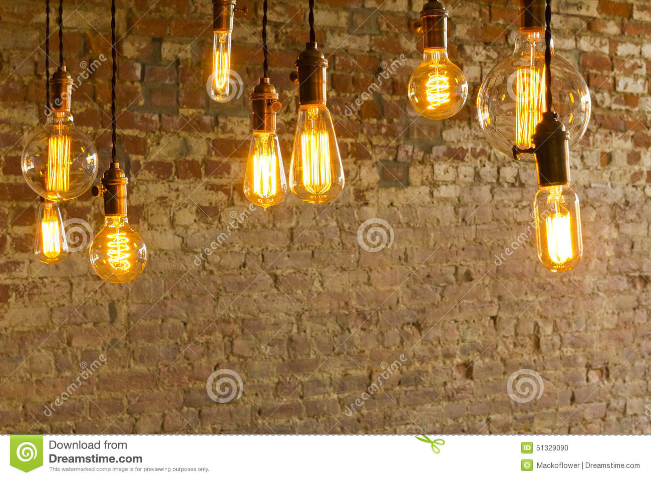 antique light bulbs stock photo image 51329090. Black Bedroom Furniture Sets. Home Design Ideas