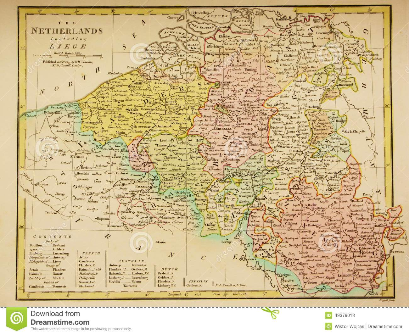 Map Of Benelux Download Similiar
