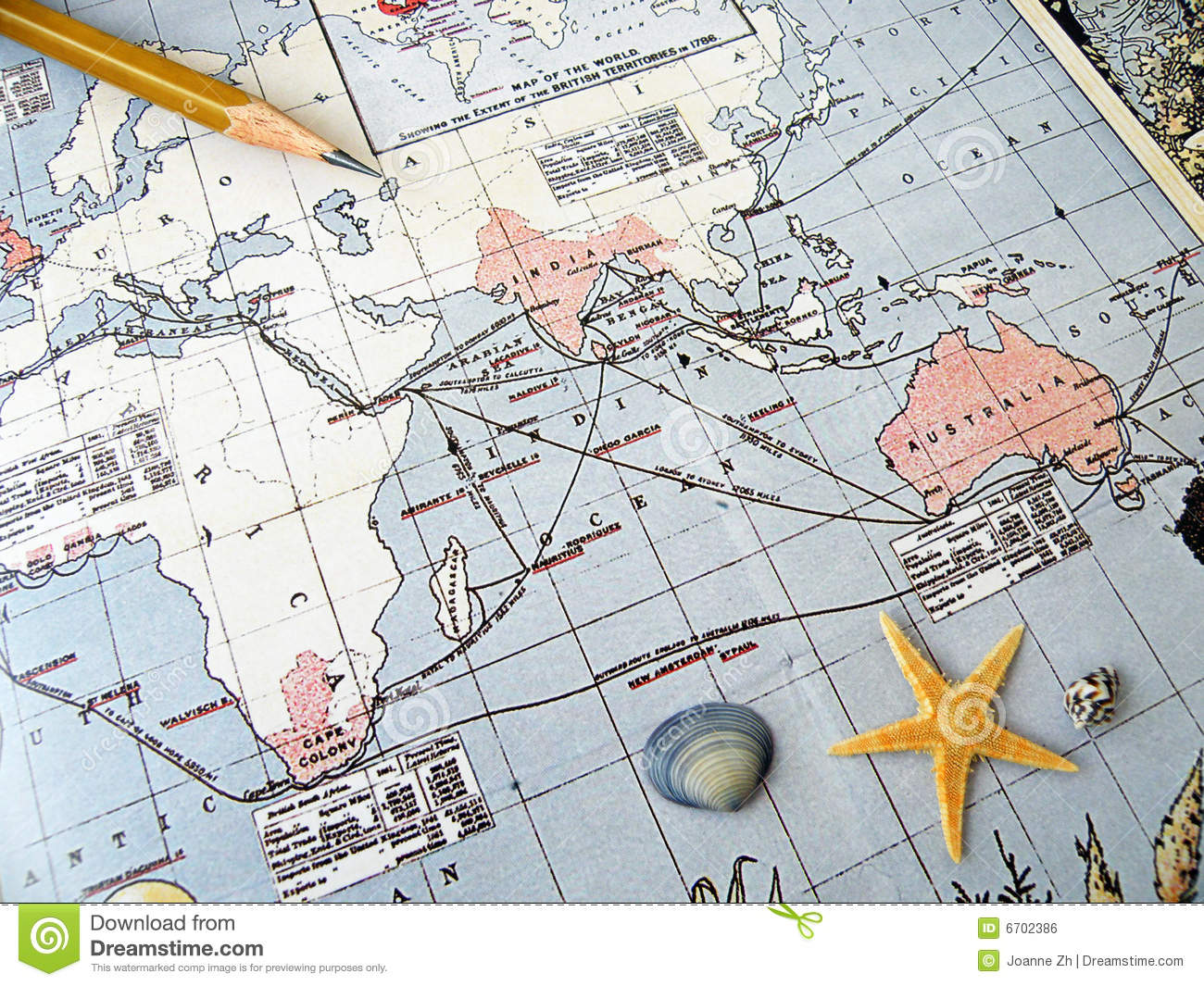 Map Of Southeast Asia And South Pacific.Antique Map Pacific Region Stock Photo Image Of Africa 6702386