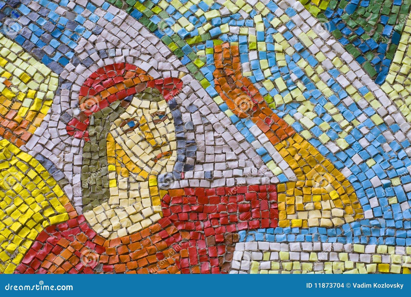 Antique Mosaic Stock Images Image 11873704