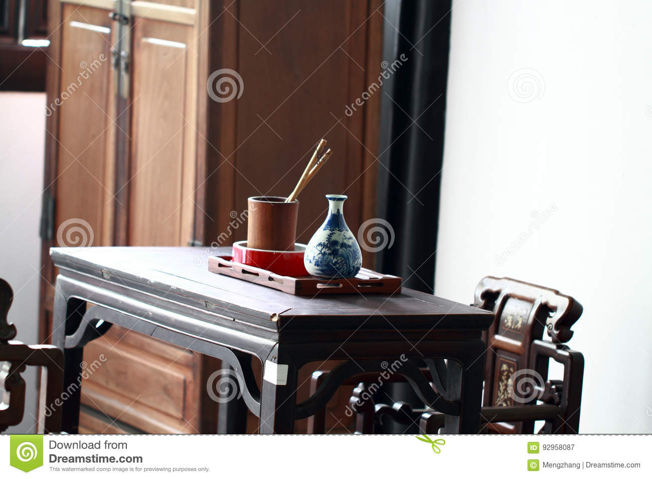 asian office furniture. Wooden Antique Office Furniture With Asian Chinese Traditional Design And  Pattern In Workplace. Office Mahogany Wood Desk Chairs East Asia China Asian