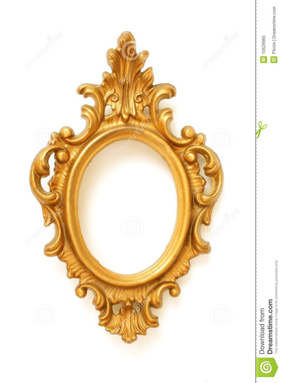 Antique Picture Frame Stock Image Image Of Antique