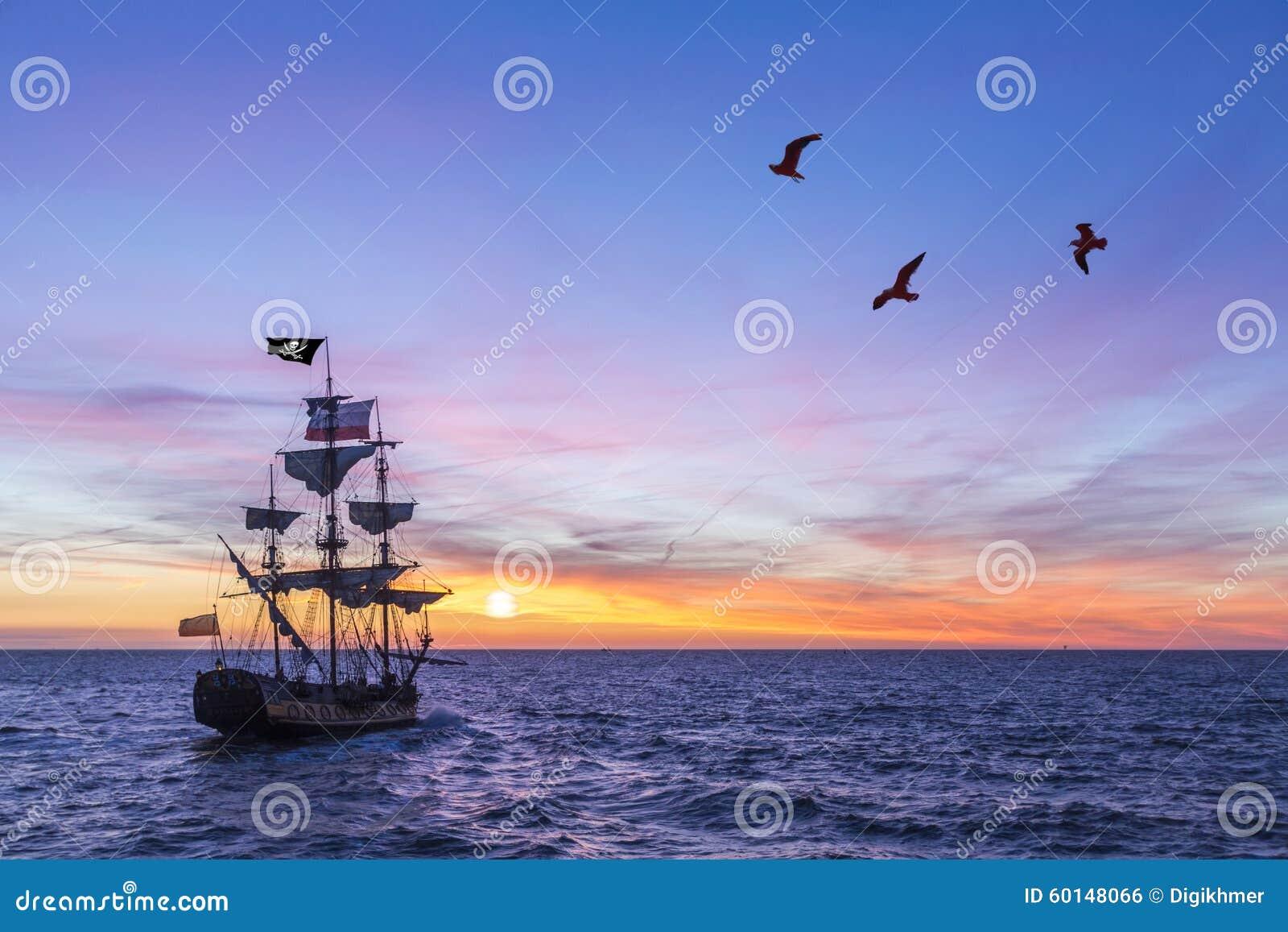 Antique Pirate Ship