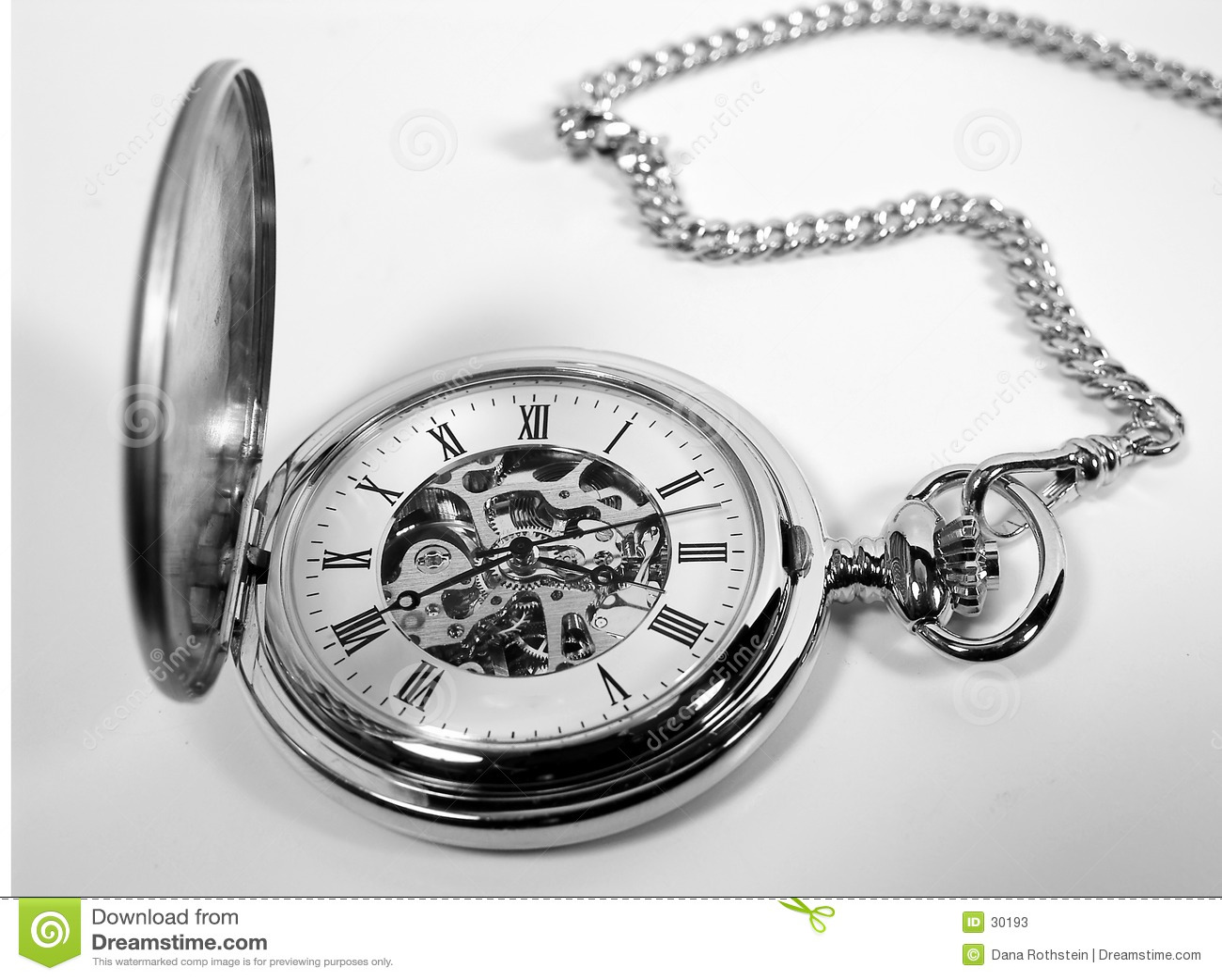 Antique Pocket Watch Stock Image Image Of Antique Stem 30193