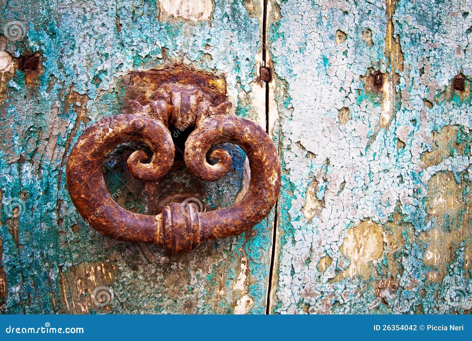 Antique portal, detail