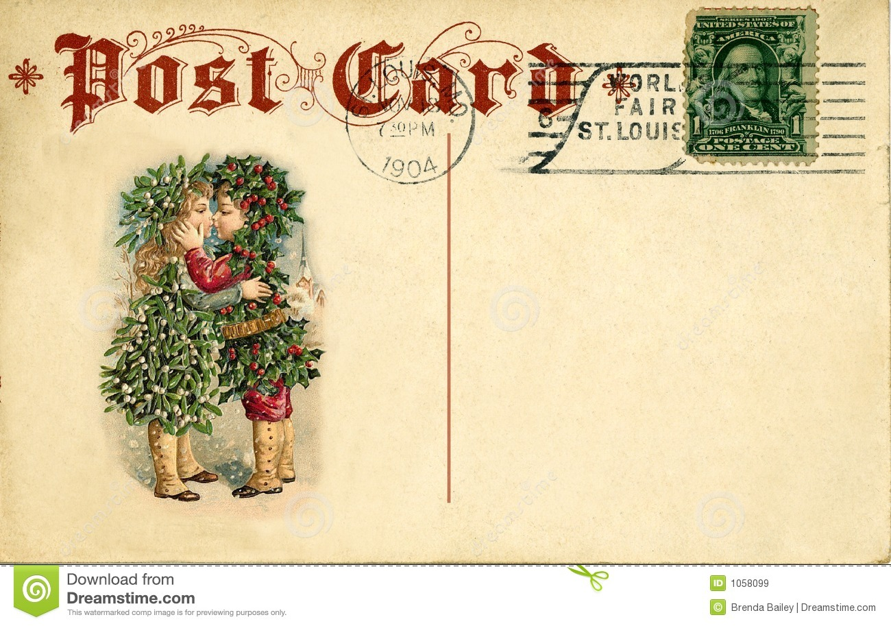 Free Old Fashioned Christmas Cards