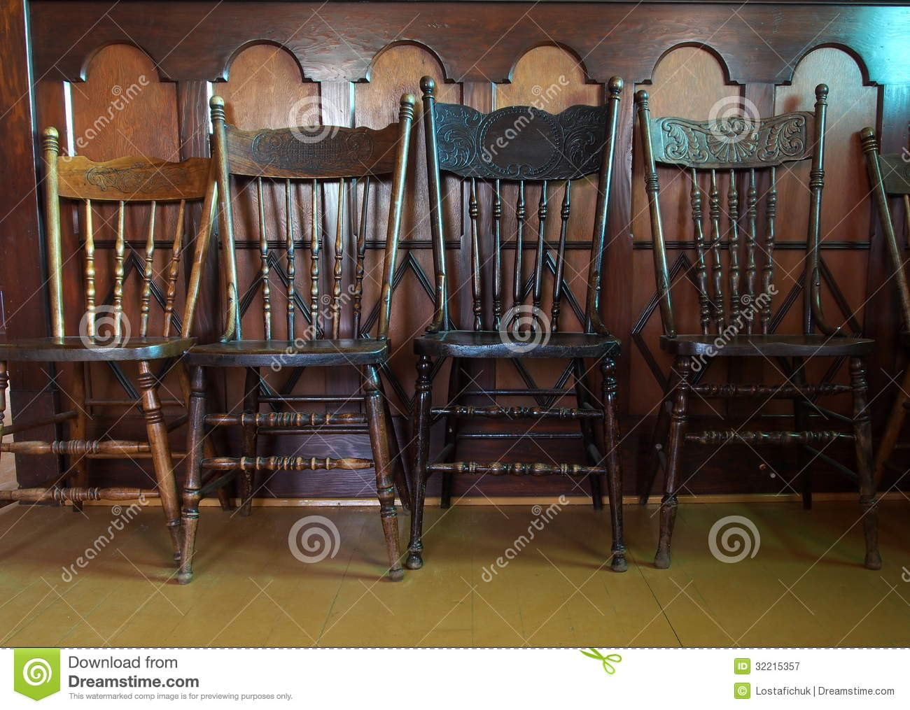 Antique Pressback Chairs - Antique Pressback Chairs Stock Image. Image Of  Spindle - 32215357 - Antique Pressback Chairs Antique Furniture