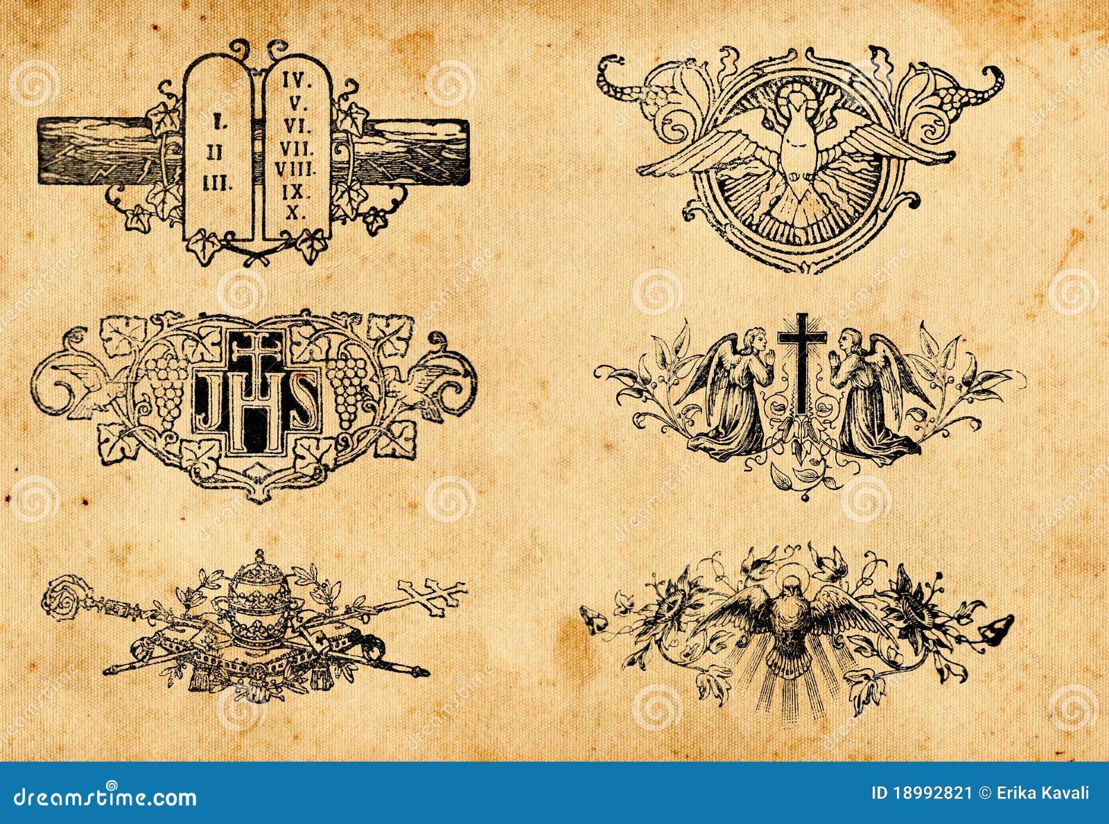 Antike Symbole