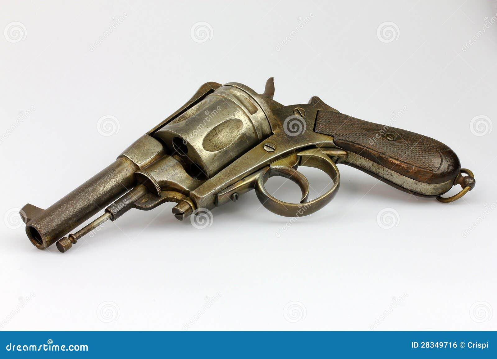 Antique Revolver Royalty Free Stock Image - Image: 28349716