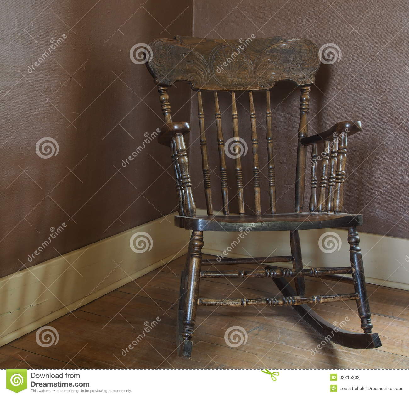 Astounding Antique Rocking Chair Stock Photo Image Of Manufactured Download Free Architecture Designs Rallybritishbridgeorg