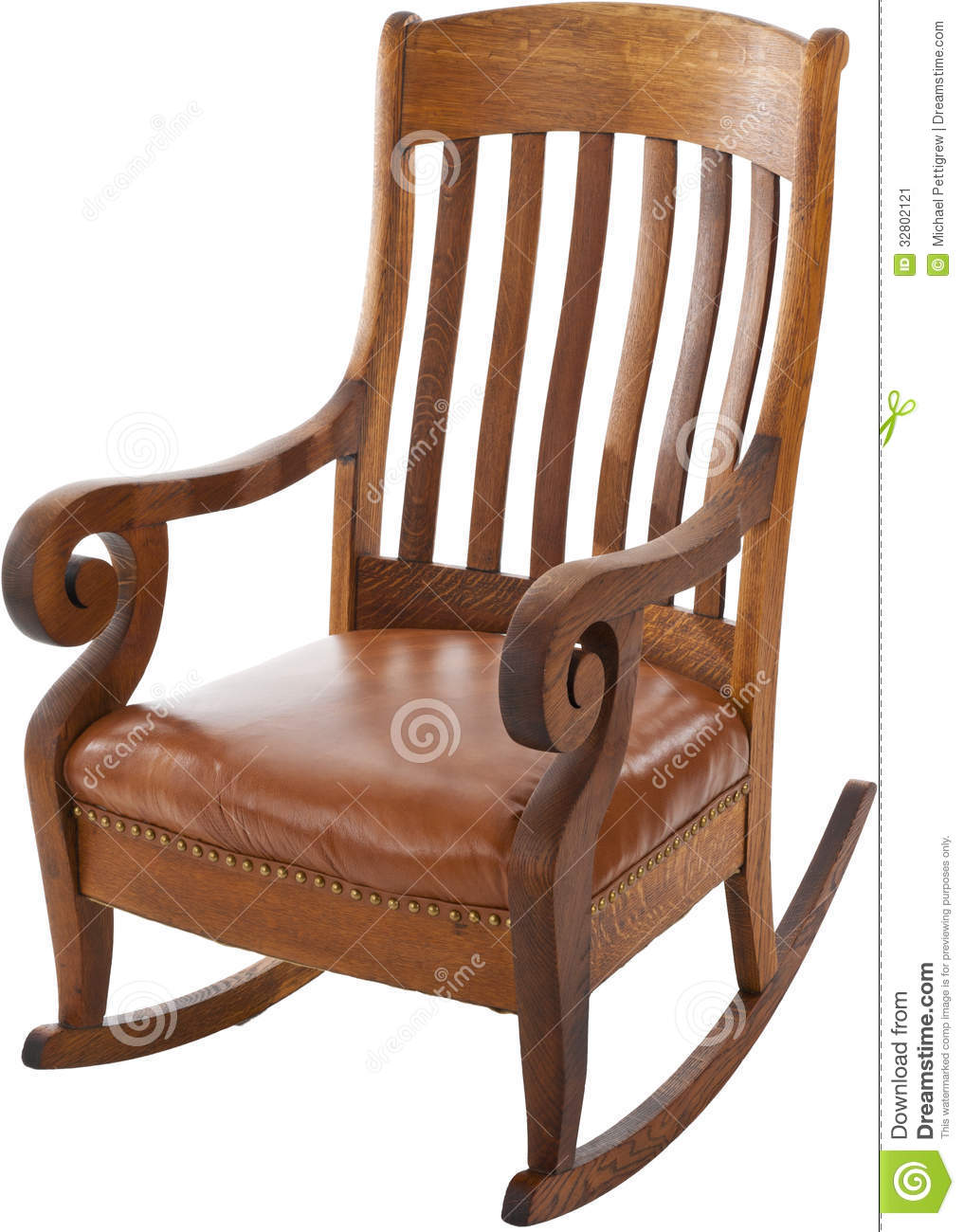 antique background chair isolated rocking ... - Antique Rocking Chair Stock Image - Image: 32802121