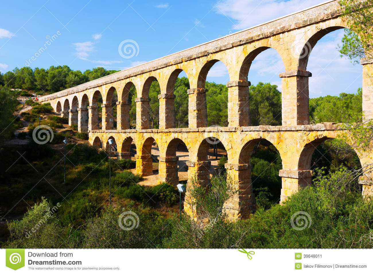 an examination of the ancient roman aqueducts