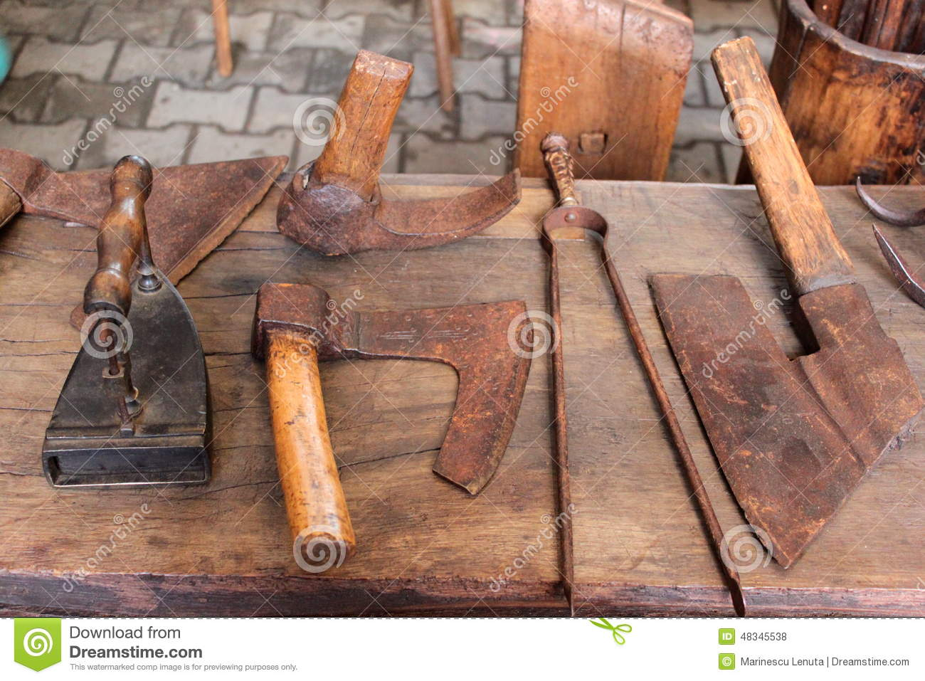 Antique romanian old objects stock photo image 48345538 for Old objects