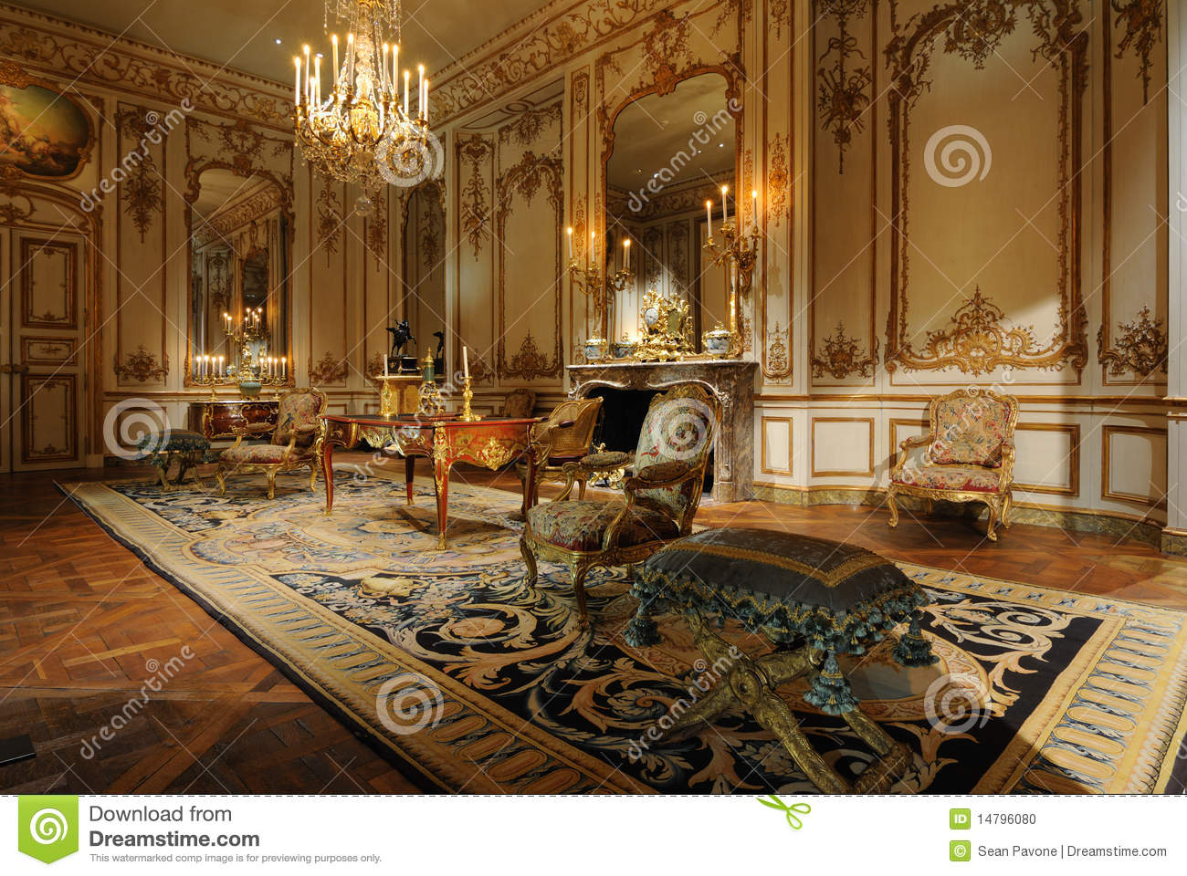 Antique Room Editorial Image - Image: 14796080