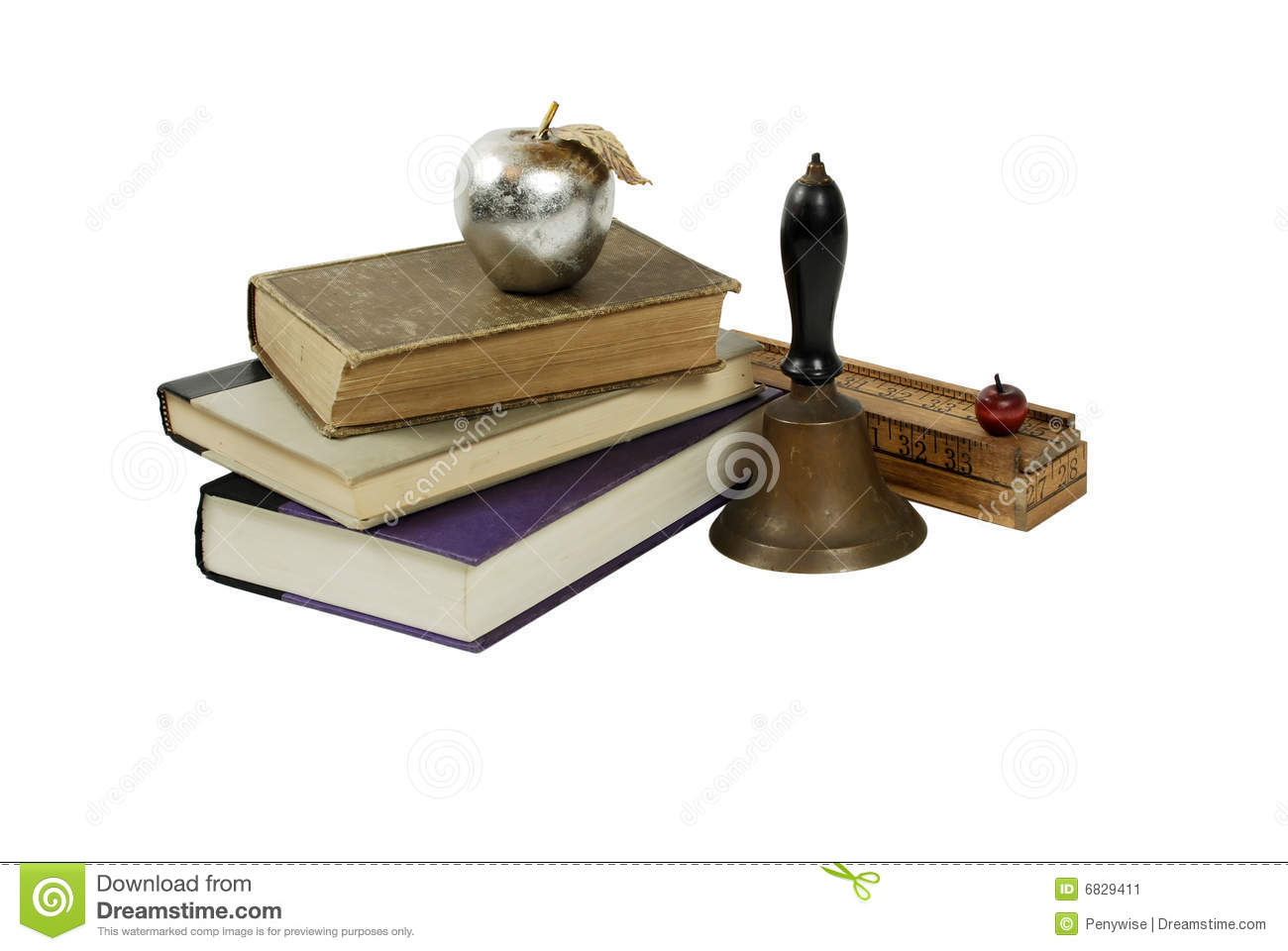 Antique School Items Stock Image Image Of Large
