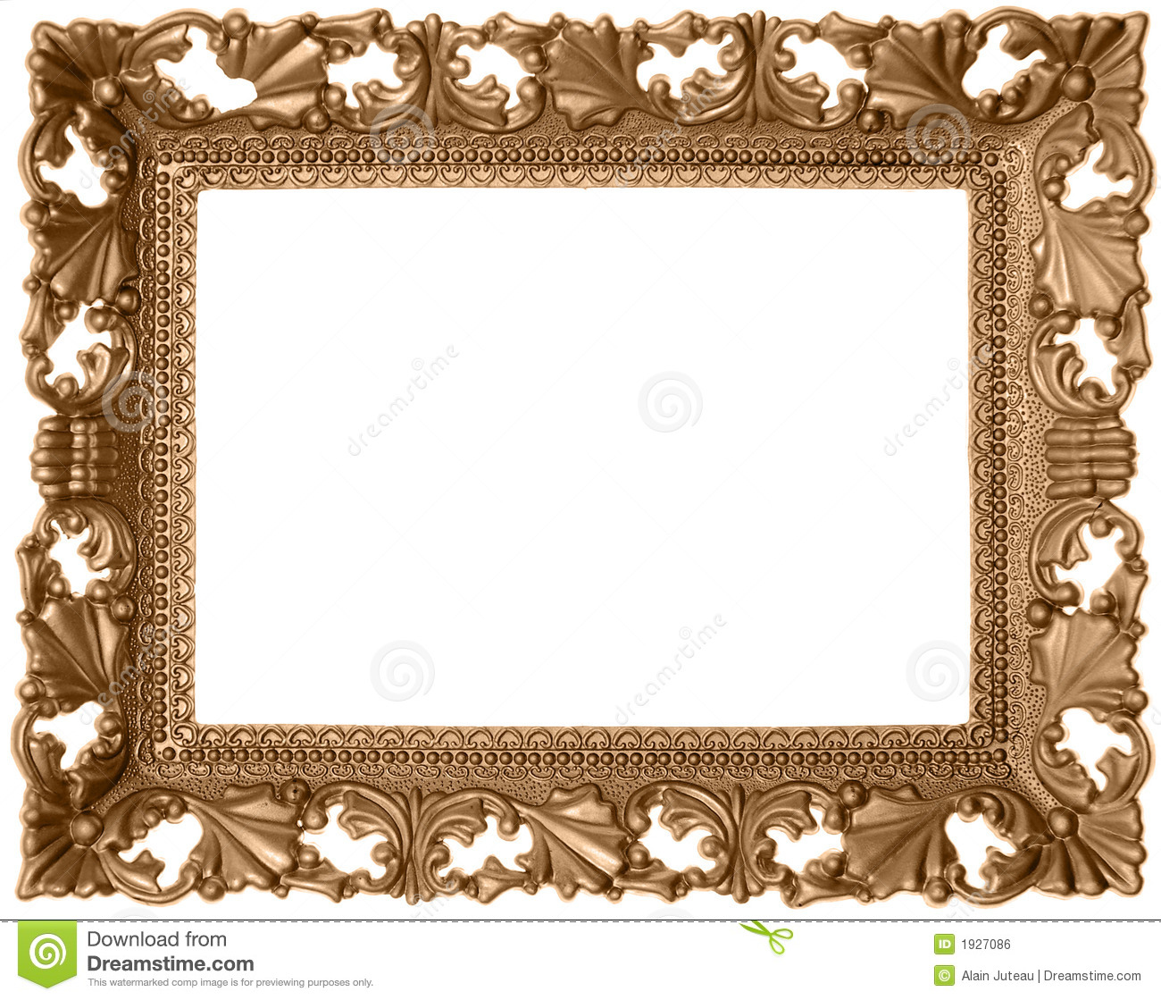 antique sepia frame stock photo  image of certificate