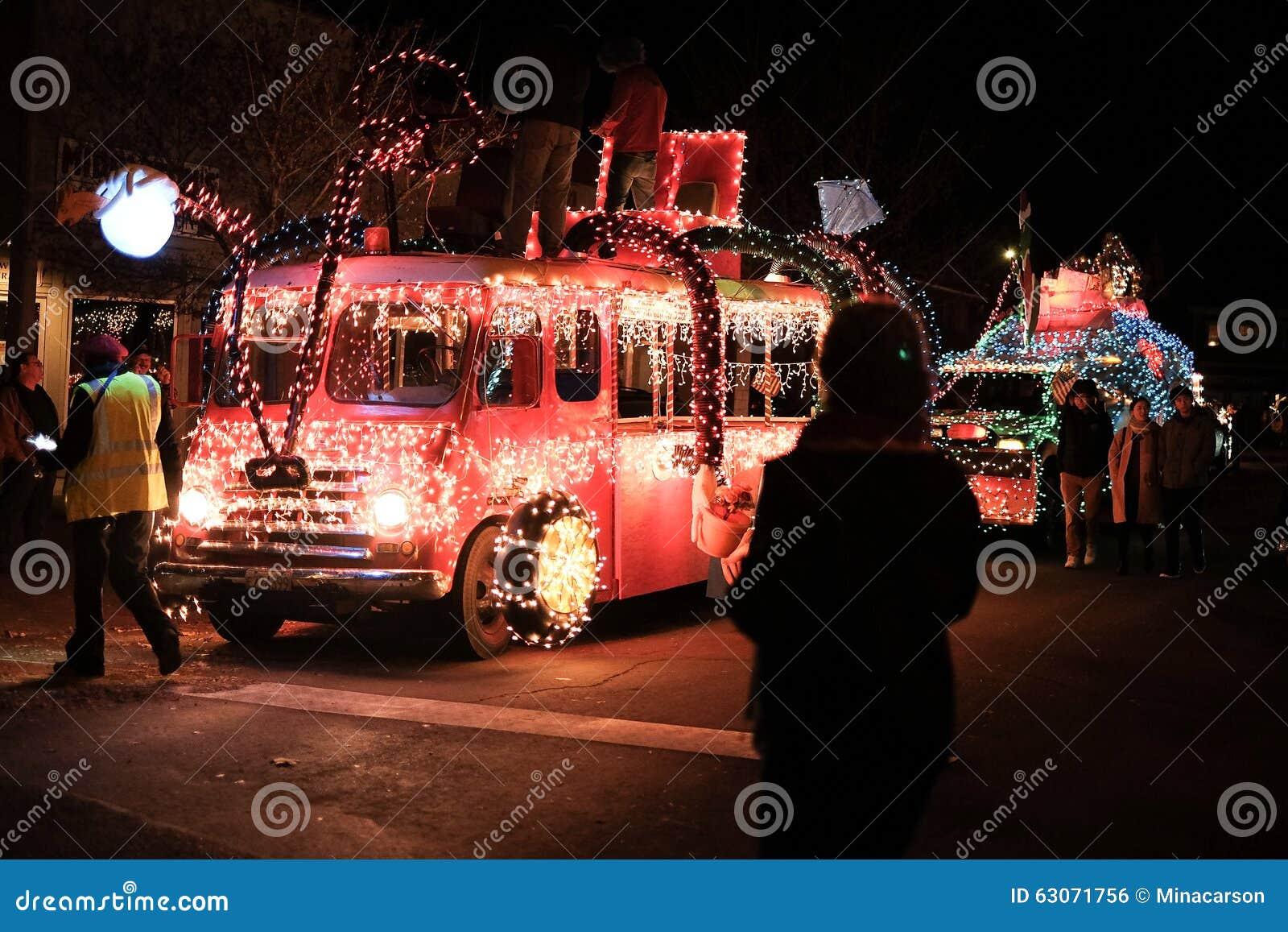 Antique Seuss Themed Milk Truck Prepares For Holiday Parade